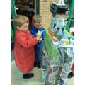 Creating our Boxasaurus!