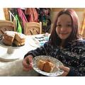 Tilly baked a cake