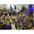 Christmas nativity at St Peter and St Marys church
