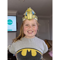 Mya's Egyptian headdress