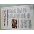Samuel's newspaper report