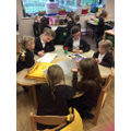 Sharing books with our Year 4 Buddies