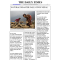 Grace's newspaper report