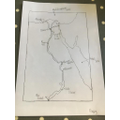 Poppy's map of Egypt