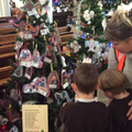 Visiting the Christmas Tree festival