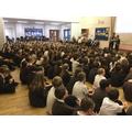 Whole School Proud Celebration Assembly