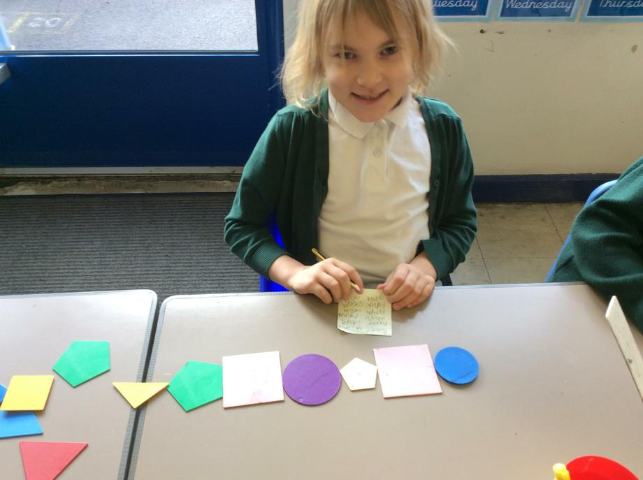 I chose to repeat 2D shapes!