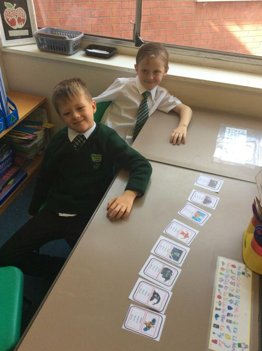 We have also used Top Trumps card to order numbers