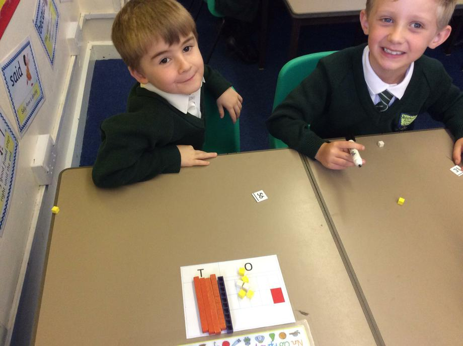 Dienes help us understand the value of each digit