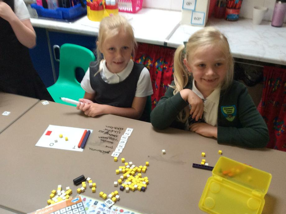 We have been using dienes to help us