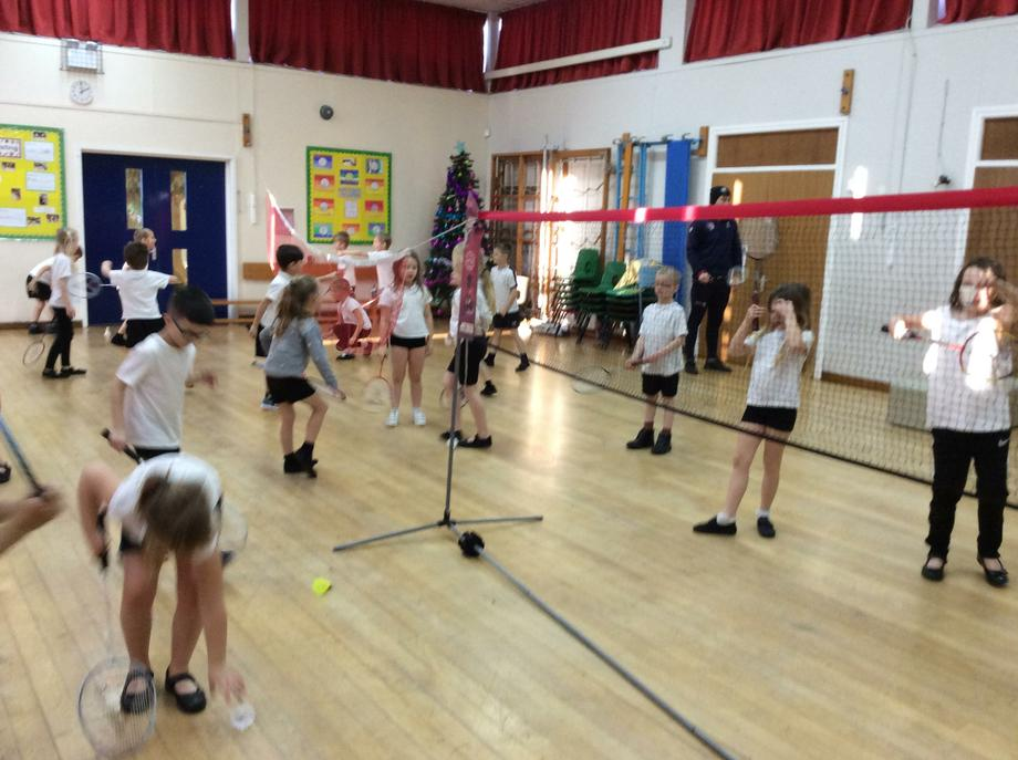 This term we have Badminton every Friday.