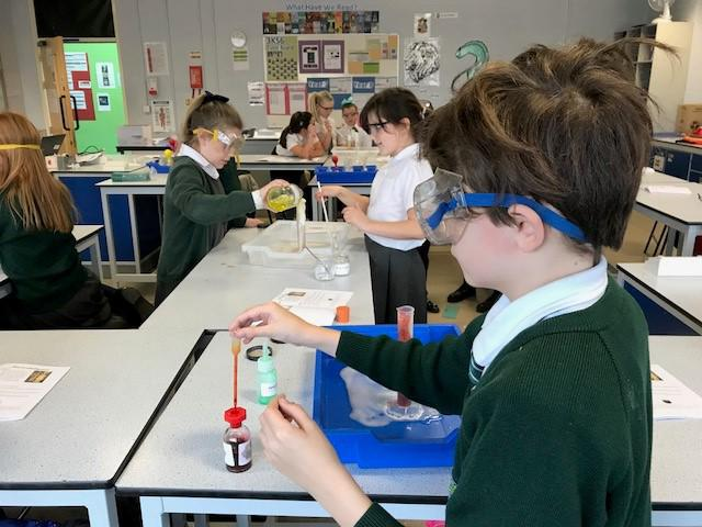 Creating our own potions.