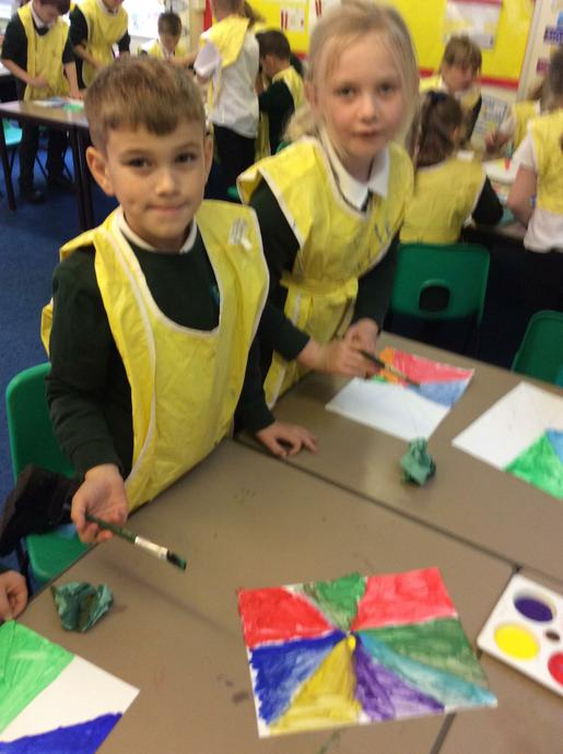 This week we have created art work inspired by ww1