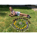 Artwork inspired by Andy Goldsworthy