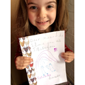 A wonderful letter to her Year 6 buddy