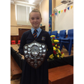 Ellie - Sawyers shield for Most Promising Sports G