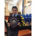 David - Shooter & co shield for Boys Hockey