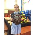 Alex - Star trophy shield for Speech & Drama