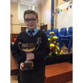 Jack - McKelvey cup for Positive Contribution