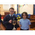 Owen and Jaden - Livingstone cup for ICT (P7H)