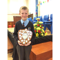 Max - Armstrong shield for Musical Achievement