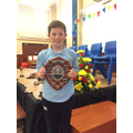 Lewis - Bell shield for Most Promising Sports day