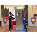 Jolly Jester, Magic Mirror and Merlin