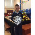 Sam - Ulster bank shield for rugby