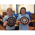Katie Leigh and Melissa - Carlisle shields for Art
