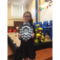 Lydia - Campbell shield for Positive Contribution
