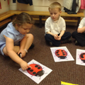 Practising our touch counting skills