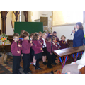 Our school recorder group performing