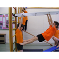 Gymnastics in school