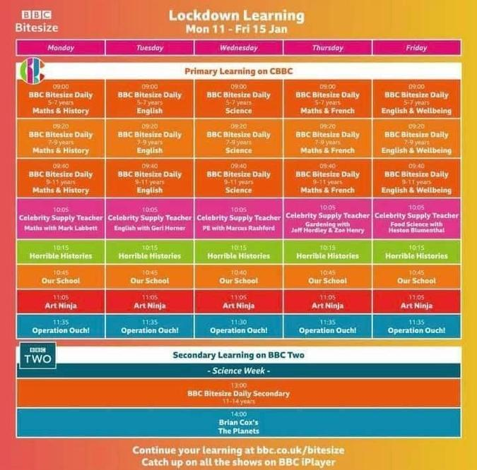 CBBC Home Learning