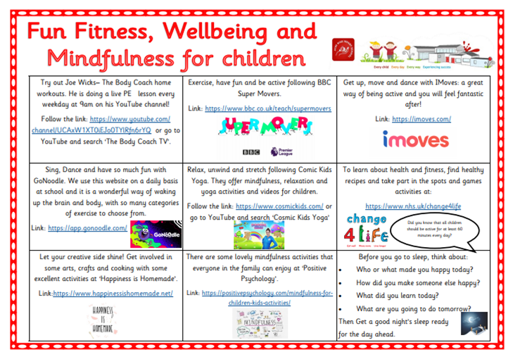 Fun Fitness,Wellbeing  and Mindfulness