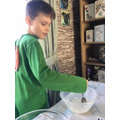 Jack's been busy making slime!