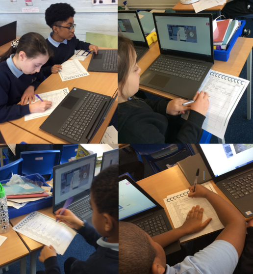 Computing- We became a journalist by collecting various stories to create a report.