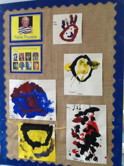 Look at our wonderful art work.