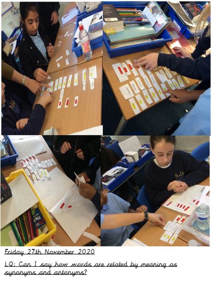 Can you create your own synonym and antonym game at home?