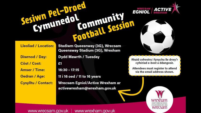 Community Football Sessions