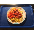Quorn  and Pasta in a Tasty Tomato Sauce