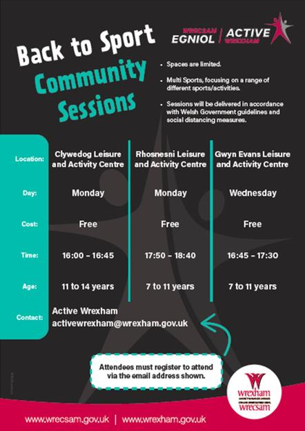 Back to School Community Sessions