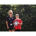 The OSA Resilience Award presented by Miss Spencer