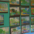 Pastel art inspired by Constable