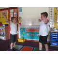 Acting our Bible story in R.E.