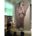 After lunch, we explored the Egyptian galleries with our guide, Trish.