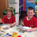 PSHE: Making Rainbow fish