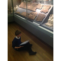 Finally it was time to explore the many interesting artefacts.
