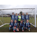 U11 Girls Football team