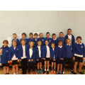 Sportshall Athletics team 2018